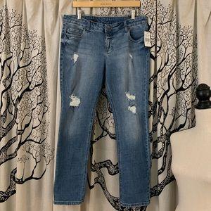 NWT Kut from the Kloth Cheyenne Boyfriend Jeans